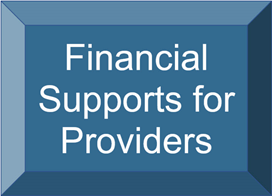 Financial Support for Providers