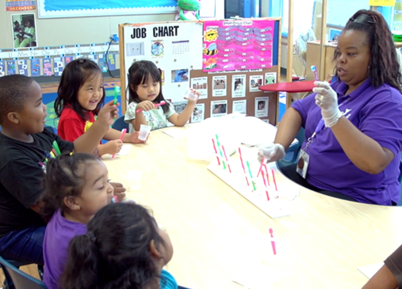 Steps for Toothbrushing at the Table: Growing Healthy Smiles in Early Care and Education Programs